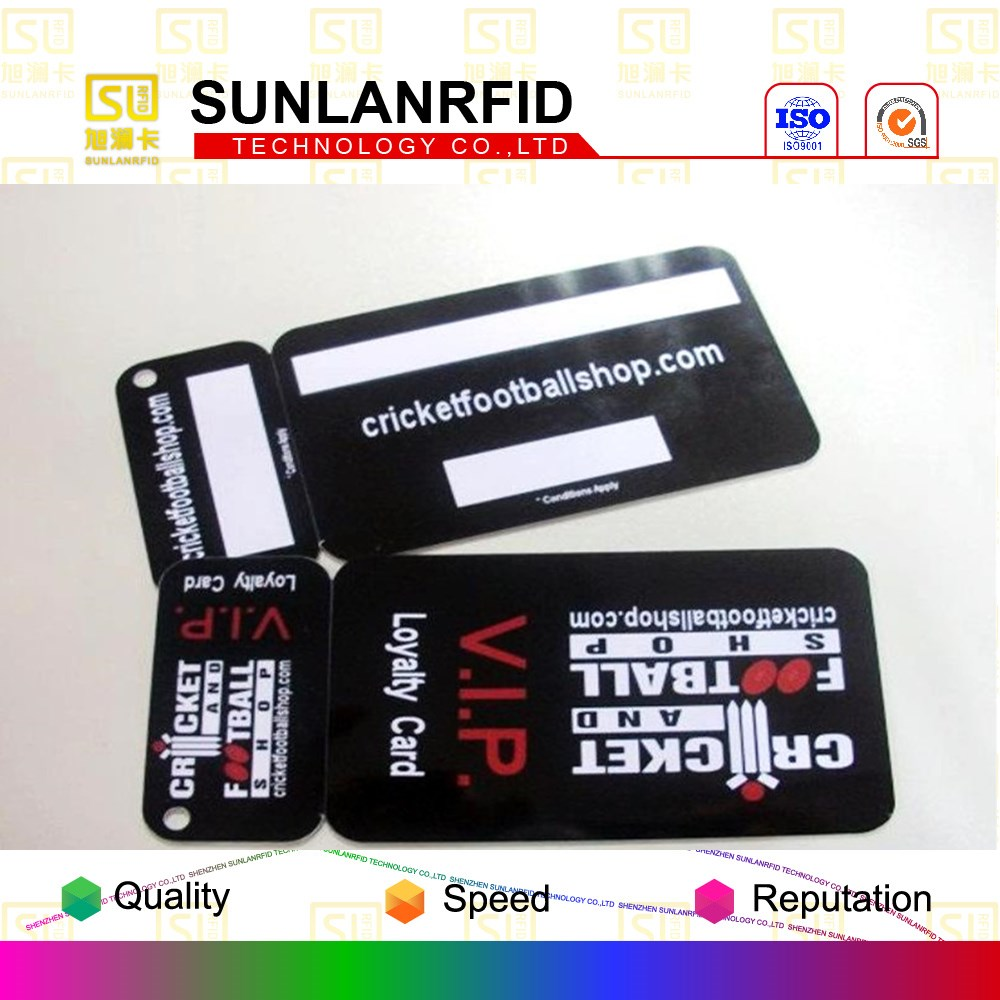High Quality 1 key tag PVC barcode available plastic combo card