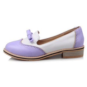 2018 Latest Trending Ladies Bow Tie cheap Casual Shoes Black Flat Women Casual shoes