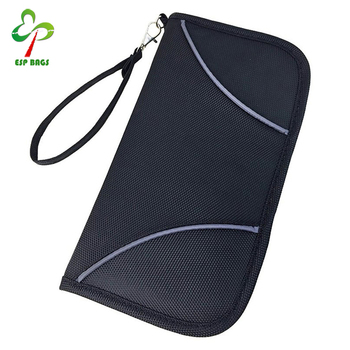 383d5ebab9e4 Slim Anti-theft Safe Rfid Blocking Passport Wallet,Id Credit Card ...