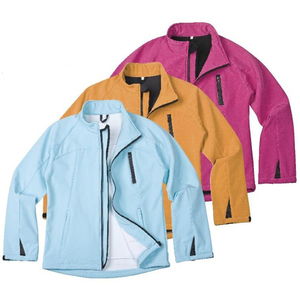 Outdoor sports waterproof softshell jacket fabric womens