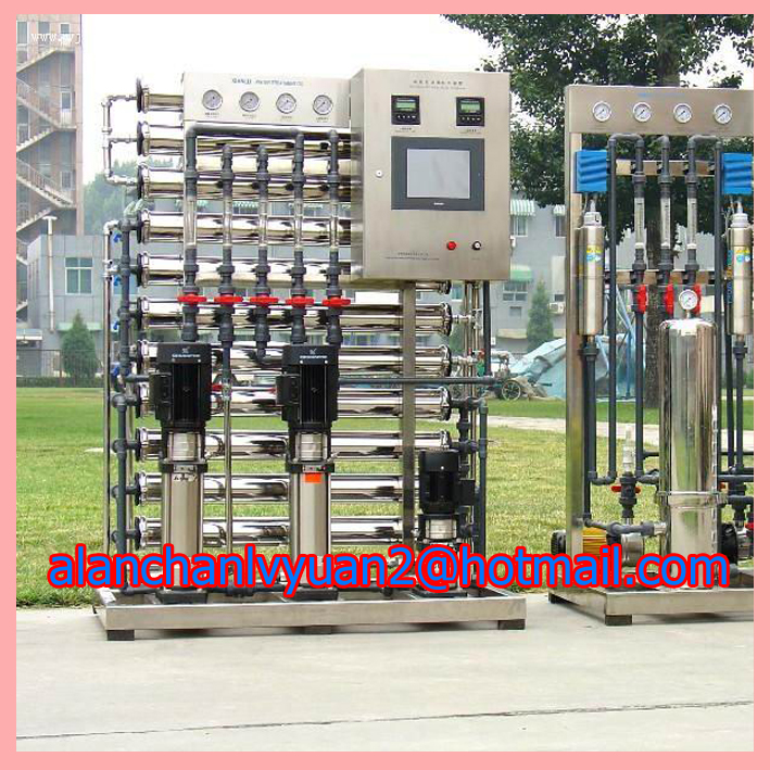 anti-dirty water treatment /distilled refilling water machine