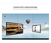 "46"" 3.5mm bezel best video project samsung 460ux-3 46 lcd video wall display"