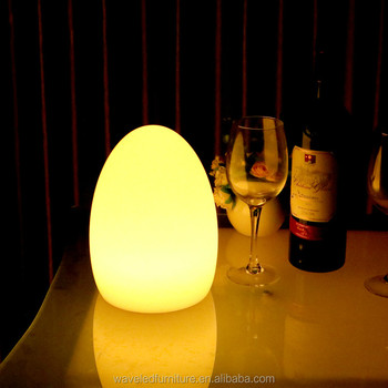 Gentil Mini Top Quality LED Remote Control Table Lamp Warm Color Table Lights