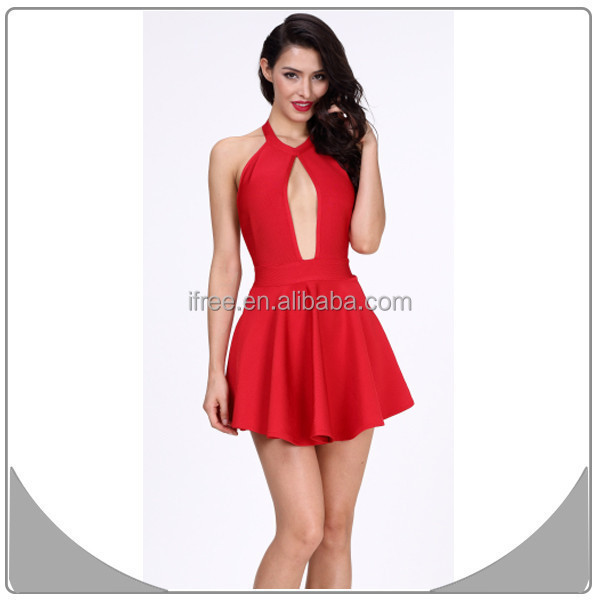 Professional Fashion Bandage Dresses Red Cocktail Dresses For Prom ...