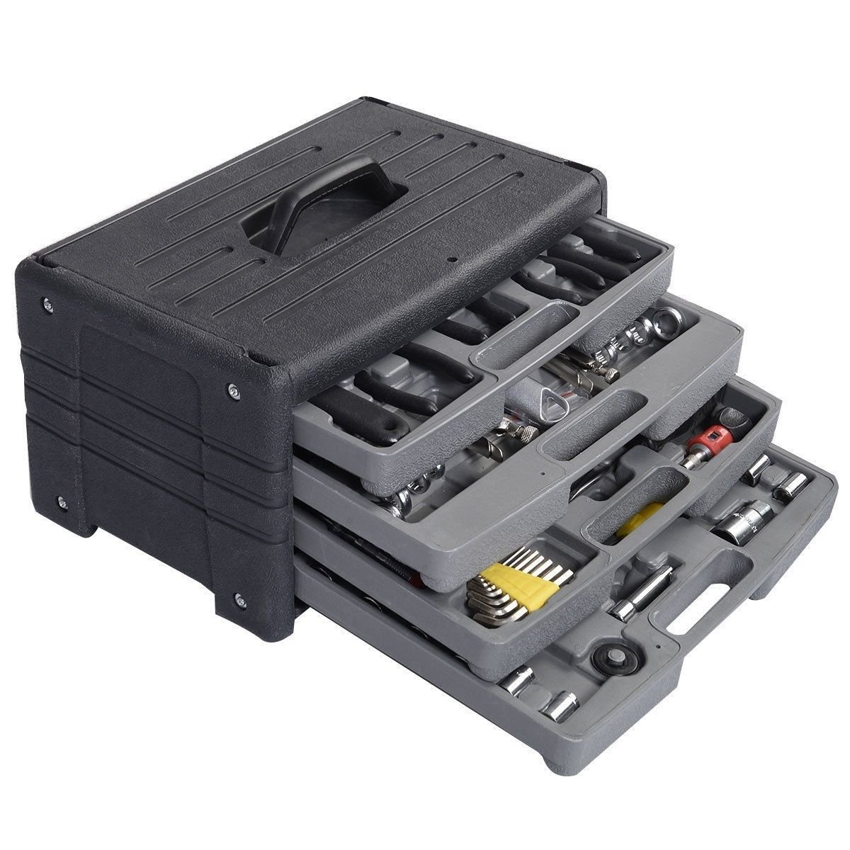 Garage Tool Mechanic's Tool Kit Set Shop Vehicle Repair Four Floors 99pcs NEW ,product_by: patsbargainhut14 it#72252460397834