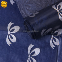 Sinicline high quality 23gsm wax water-proof silver logo printing customized clothing wrapping tissue paper