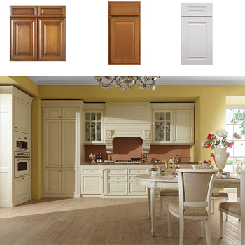 China Solid Wood Kitchen Cabinets With Luxury Islands ...