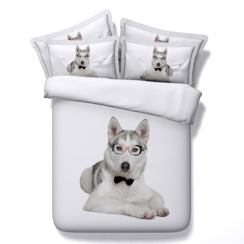 achetez en gros chien impression couette en ligne des grossistes chien impression couette. Black Bedroom Furniture Sets. Home Design Ideas