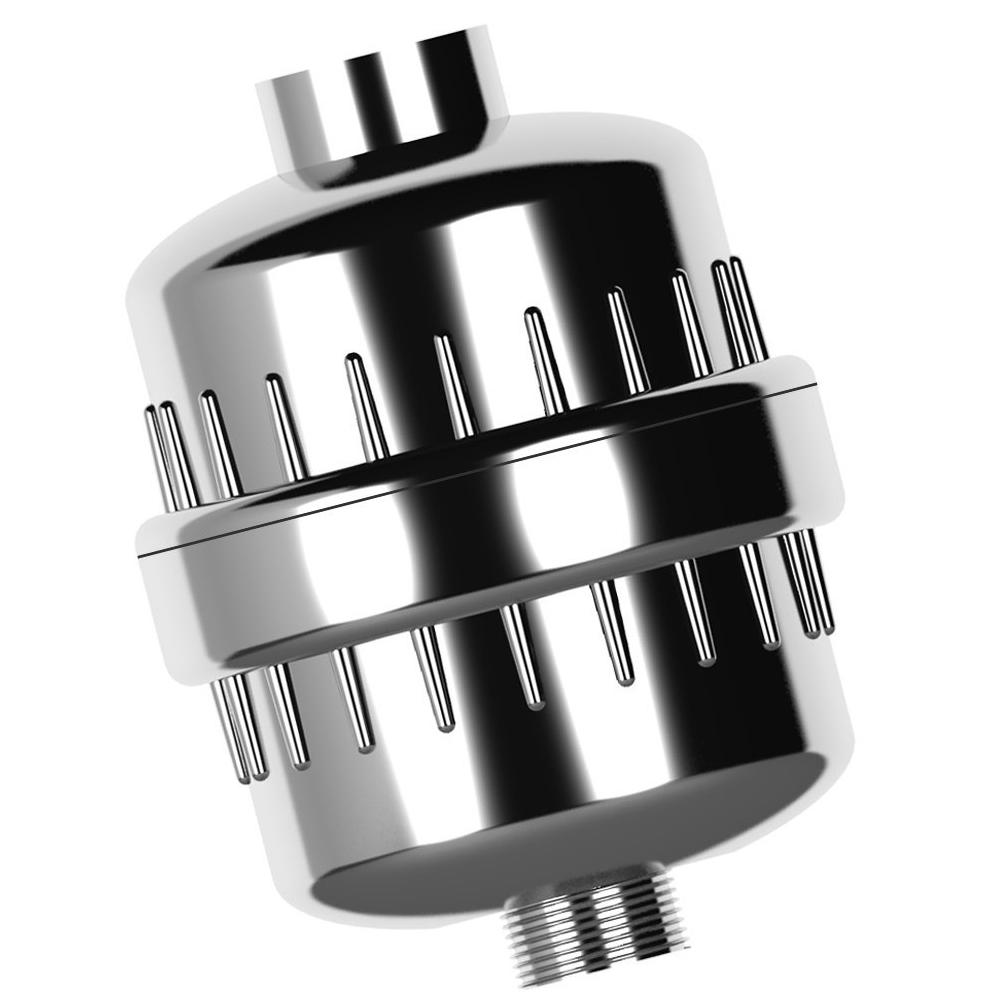 US 15 Stage Shower Water Filter W//2 Cartridges 2 Gasket for Handheld Shower Head
