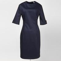 long sleeves navy blue vintage designs unique prom dresses under 100