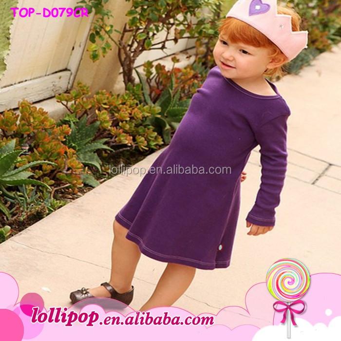 f886fe084a45f 2015 New Arrival Kids Girls Plain Dress Purple Baby Cotton Ruffle Dress  Wholesale - Buy Cotton Baby Dresses,Girls Dresses,Baby Dress Product on ...