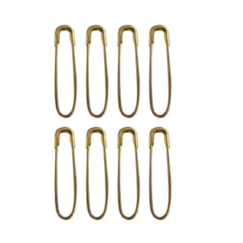 Fashion 22mm U Shape Gold Color Steel Safety Pins for garment tags