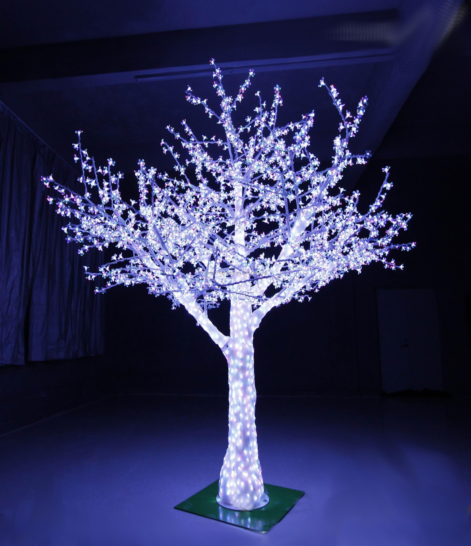 Outdoor Led Decorative Crystal Tree Light Acrylic Product On Alibaba