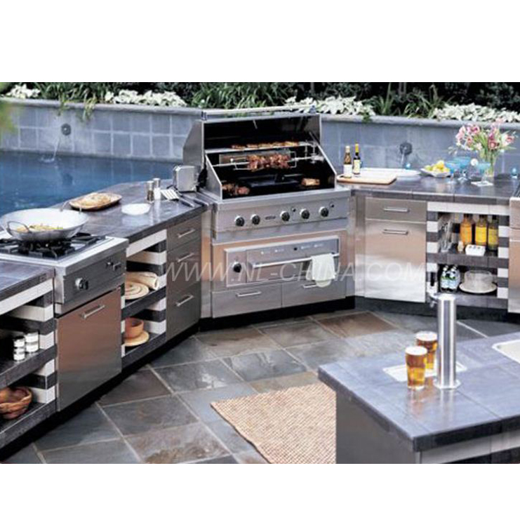 Large Bbq Grill Outdoor Kitchen