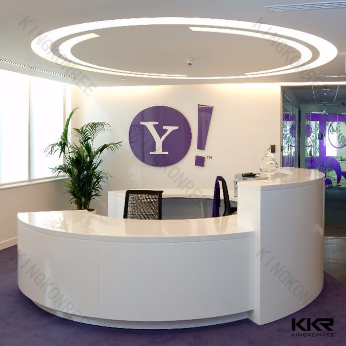 Popular 2017 Modern Design Reception Desk/hotel Reception Counter /office  KD96