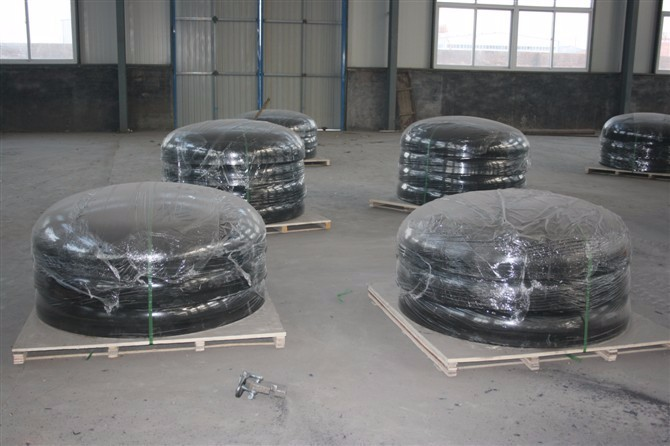 Seamless Sch40s carbon steel pipe cap supplier