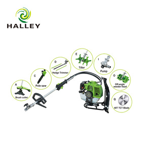 Petrol 10 In 1 Brush Cutter Chain Saw Hedge Trimmer Tiller Blower Sweeper Pump Edge Olive And Coffee Shaker