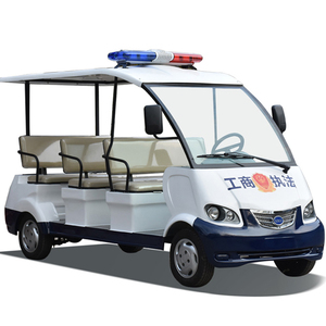 Cheap electric security car 6 seater patrol car for sale