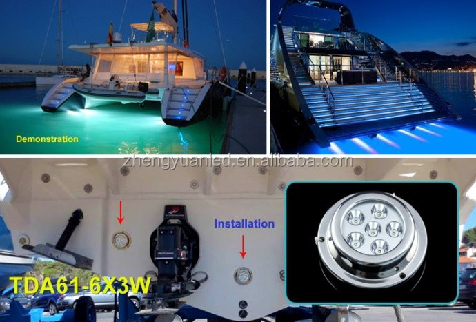 2014 Alibaba Best Seller Marine Accessories Marine LED Boat Dock Lighting