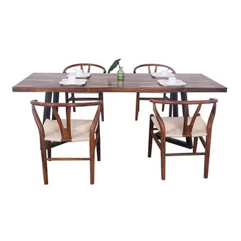 Modern Dining Room Furniture Luxury Solid Walnut Wood Seater - Modern 6 seater dining table and chairs