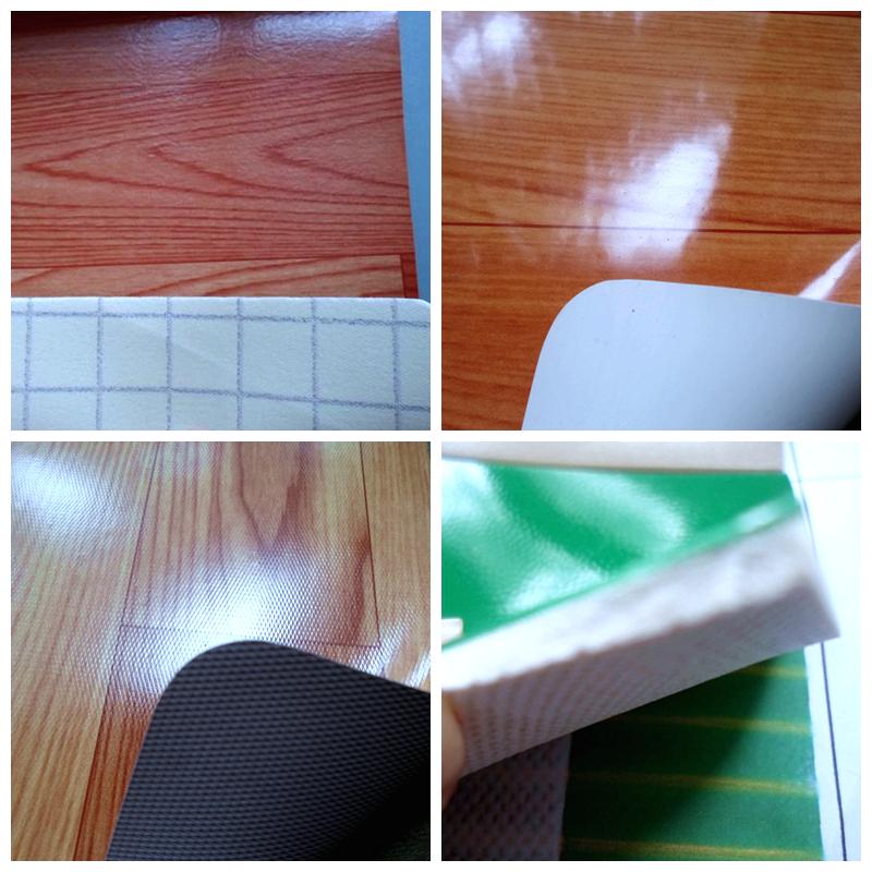 Plastic Flooring look like wood--pvc vinyl flooring roll-PVC Floor covering - Plastic Flooring Look Like Wood--pvc Vinyl Flooring Roll-pvc Floor