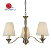 Alibaba china shops hot sale dubai style hotel brass chandeliers with parts