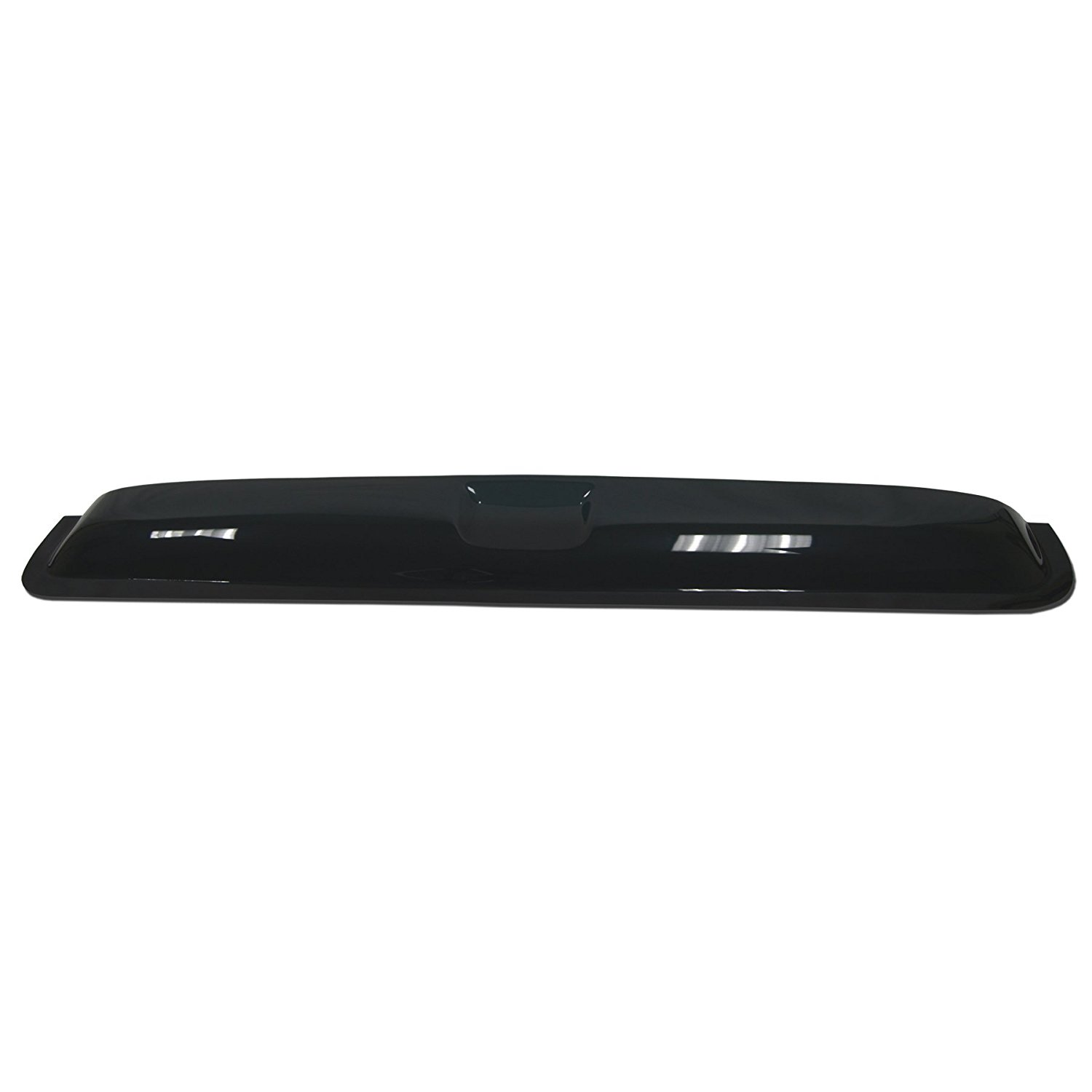 TuningPros DSVT2-113 compatible with 2005-2011 Dodge Dakota Club Cab//Extended Cab Type 2 Sunroof Moonroof Top Wind Deflector Visor Thickness 1.4mm 980mm 38.5 Dark Smoke Set of 1