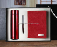 Notebook with pen and USB driver for promotional as a gift set for business man