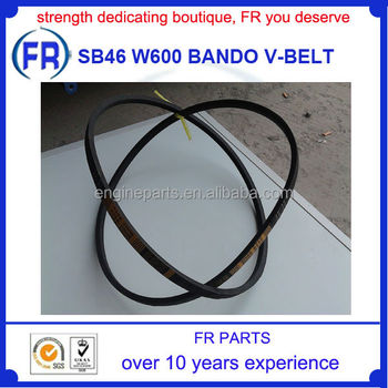 Sb46 W600 Kubota Combine Parts Bando V-belt