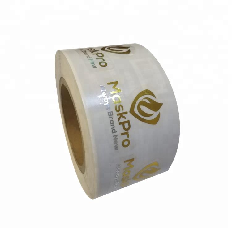 Custom Printed Roll Self Adhesive Waterproof Fasson