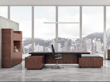 2015 Luxury furniture large wooden office executive desk for Dubai
