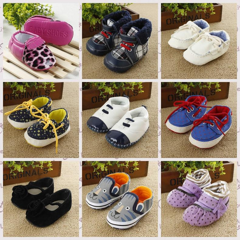 Cheap Baby Girls summer,Baby Prewalker Shoes baby sapatos soft sole shoes for first walkers Size 11,12,13cm R358