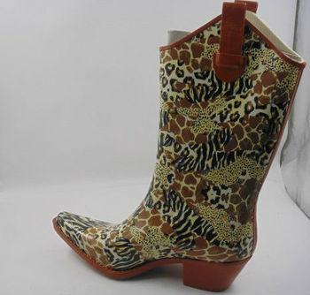 Rubber Cowboy Rain Boots Women