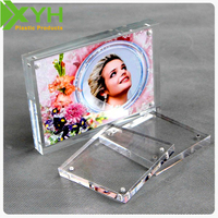 Clear Acrylic Magnetic Photo Frame Size 5