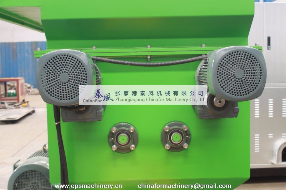 Expanded polystyrene melting polystyrene hot melting machine EPS plastic compactor