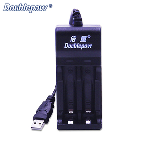 Doublepow DP-UK22 Intelligent 2 Slots USB Battery Charger for 1.2V AA, AAA Ni-MH Ni-CD Rechargerable Battery