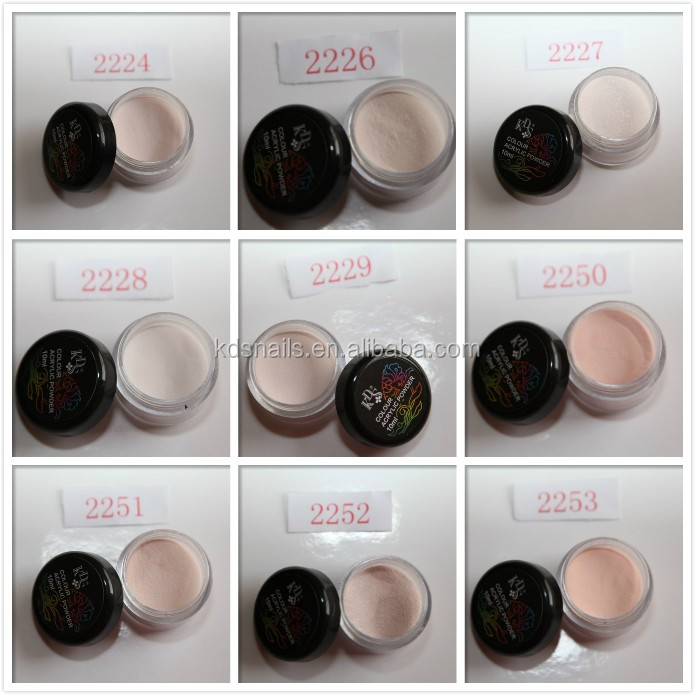 Best Acrylic Nail Brand Color Powder For