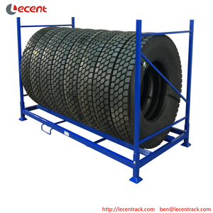 China Wholesale Market Commercial Truck Warehouse Storage Tire Display Rack