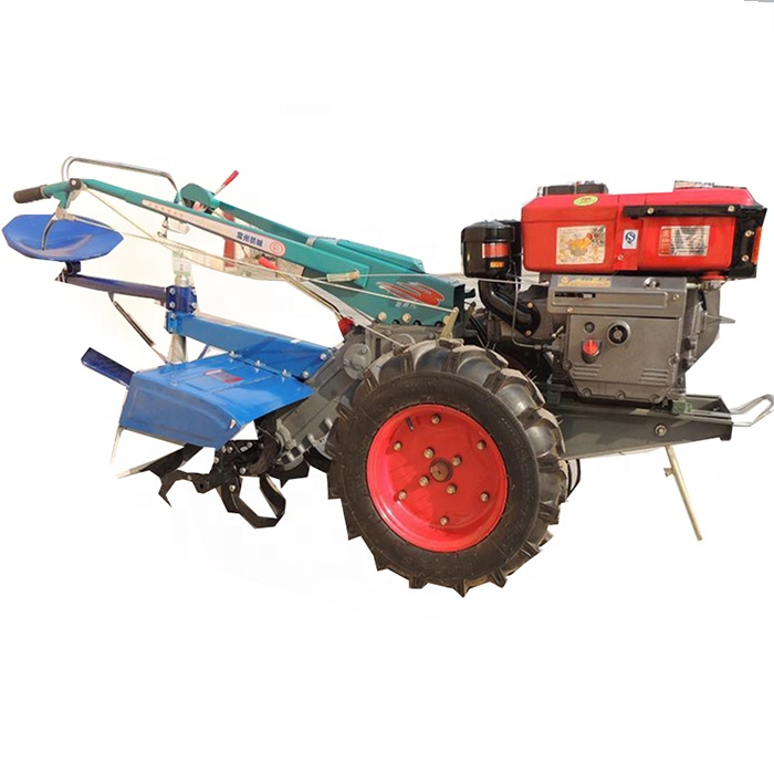Cheap price hand driven walking diesel tractor/8Hp mini hand walking tractor prices