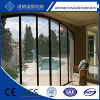 high tensile 316 stainless steel security screen/security doors/security windows protect your home from flying insects