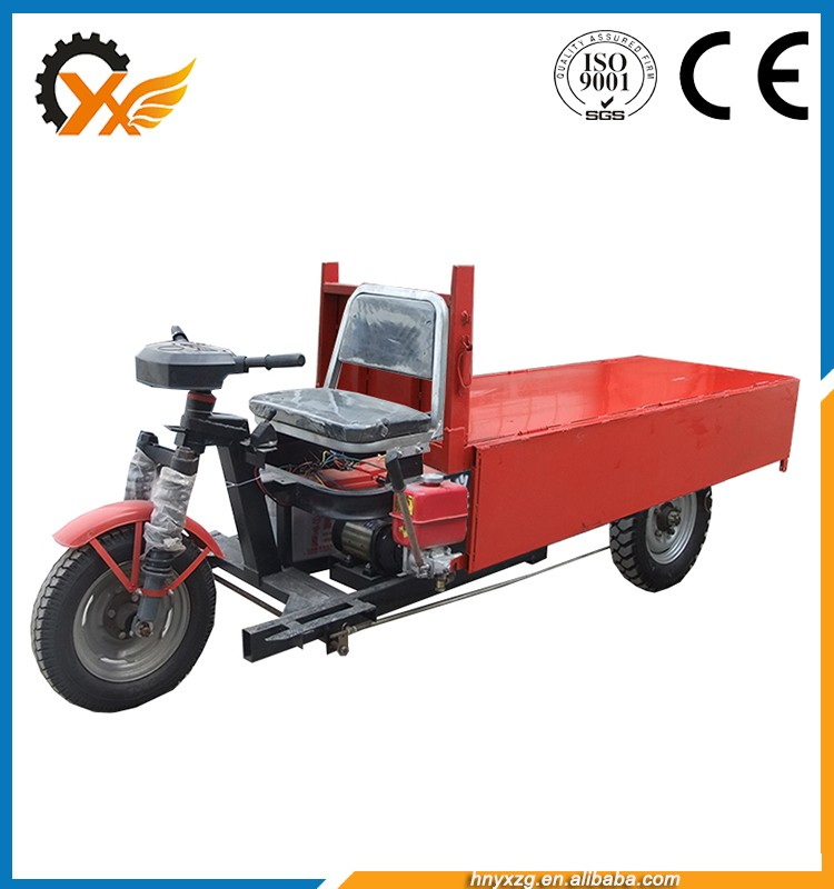 Stable performance electric tricycle dc motor china tipper trucks