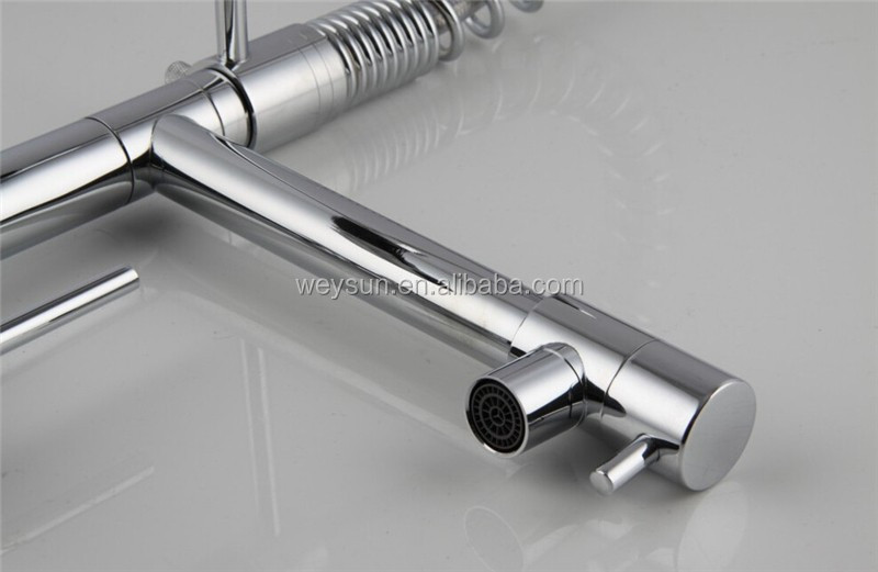 Best Quality Chrome Solid Brass Water Power Kitchen Faucet