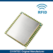 13.56MHz read/write contactless RFID NFC reader module with 2 SAMs and external 2 antenna from original manufacturer