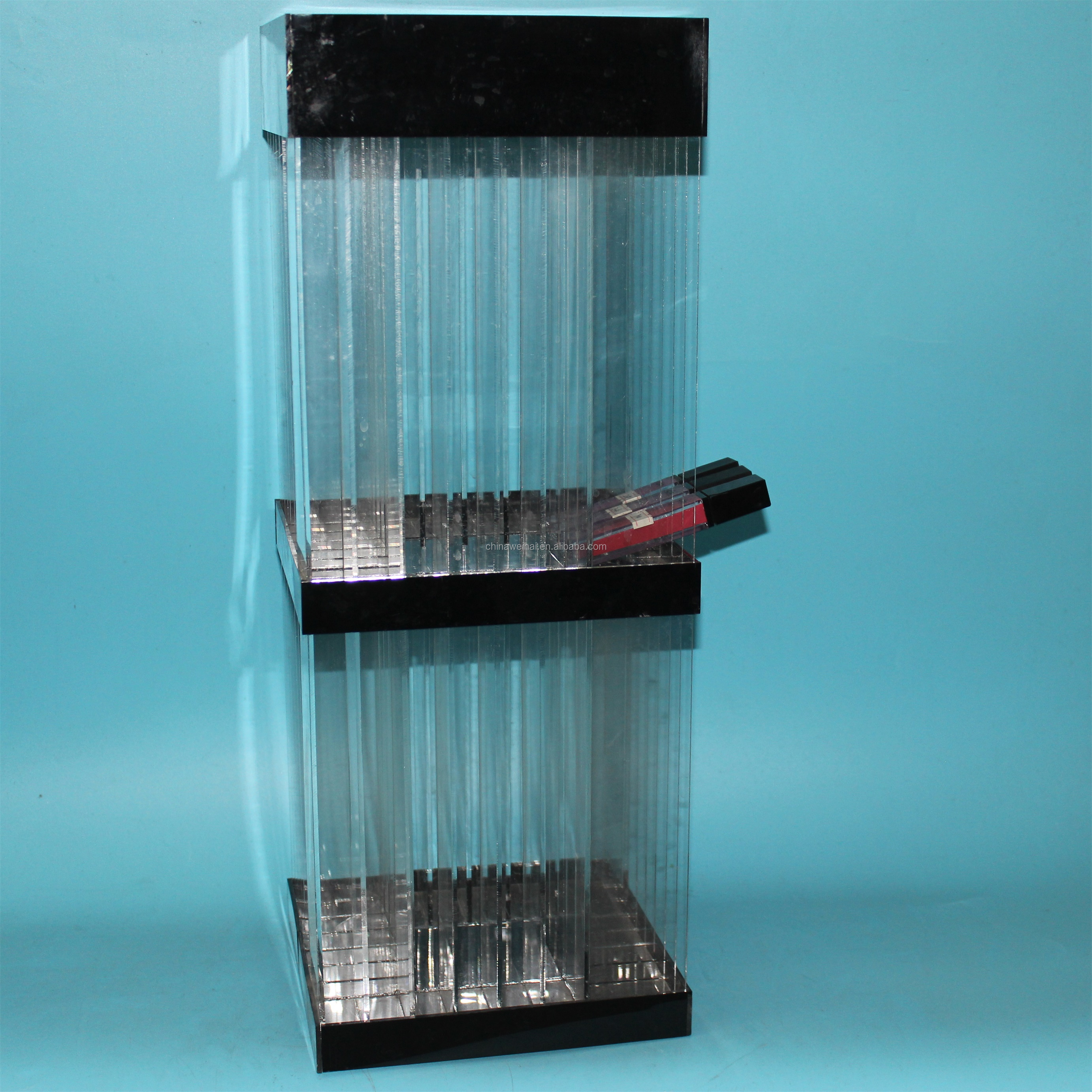2019 New Design  Rotating  Acrylic  Lipstick  Holder