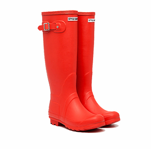 ladies original new designer rubber hunting riding boots wellingtons for women