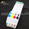 Refillable ink cartridge for Brother LC3213 LC3211 Compatible Cartridge with Auto Reset chip