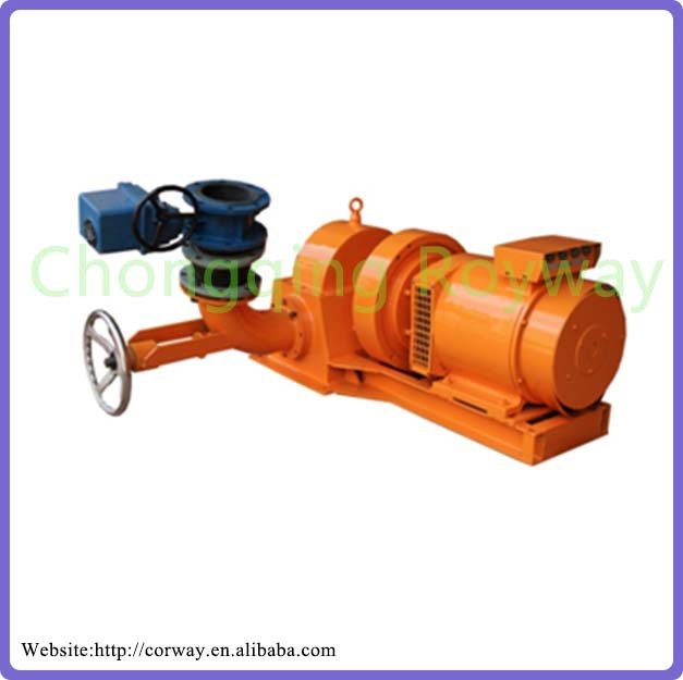 Simple Structure 56ZD760-LM-20 5KW Kaplan/Axial Flow Mini Water Turbine-generators For Sale