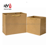High quality eco friendly recycled kraft paper tote bag