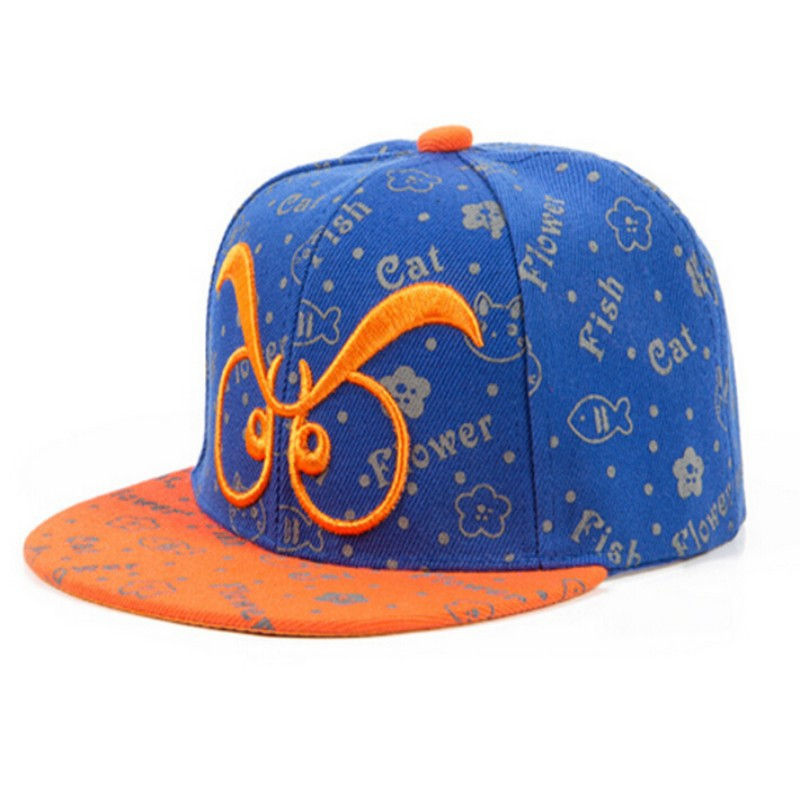 Get Quotations · Super Cool Kids Long Eyebrows Glasses Baseball Caps Boys  Girls Hip-hop Summer Hat 8 816a2df753b