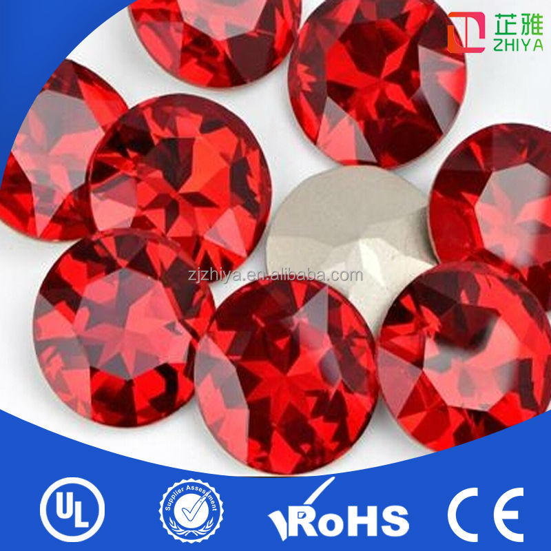 Wholesale garment accessory natural rough ruby